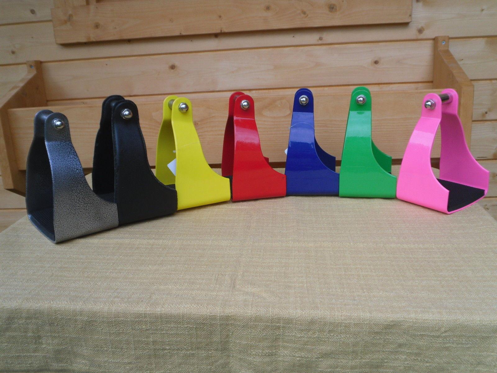 Distanzsteigbügel Steigbügel ohne Korb verschiedene Farben