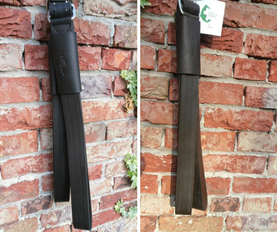 Steigbügelriemen extra breit mit Loop von Barefoot in schwarz oder braun