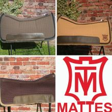 Mattes Squareskirt Western - Correction Pad 75cm verschiedene Farben