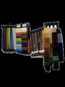 Farbmuster der gesamten Mattes-Palette