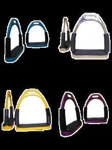 Steigbügel Gelenkbügel Sicherheitssteigbügel verschiedene Farben