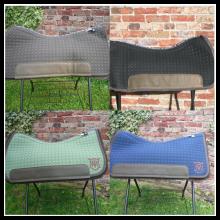 Mattes Squareskirt Western - Pad 75cm verschiedene Farben