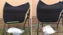 Spanische Satteldecke Correction Gr. M ohne Fell verschiedene Farben