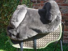 Kleinpferde Lammfellsattel  Eurofit VS Sitzgrösse s M oder L