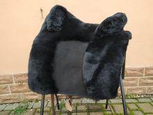 Zalea für Deuber SKL und Espaniola langes Blatt runde Bananengalerie schwarz mit schwarzem Ledereinsatz